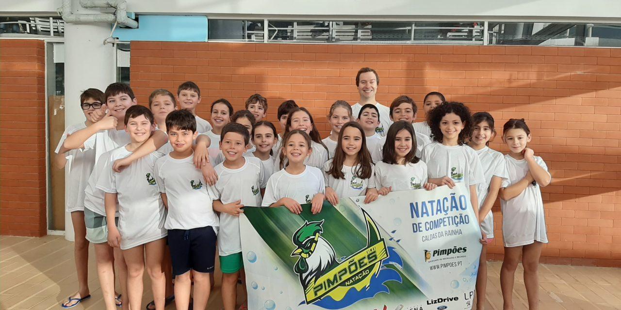 Nadadores dos Pimpões participaram na II Taça ANDL de Cadetes