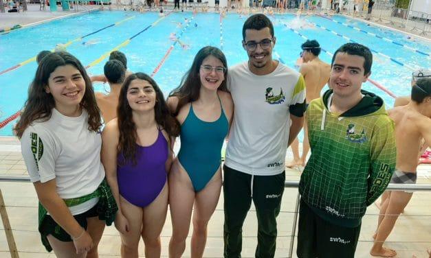 Nadadores dos Pimpões competiram no Meeting Internacional de Lisboa