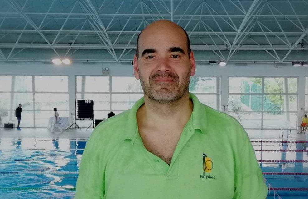 Francisco Ferraz em 3º lugar no III Meeting Internacional Luso-Andaluz de Natação Master Tomar 2020