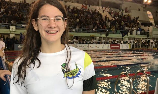 Inês Soares afirma-se como uma grande promessa da natação nacional