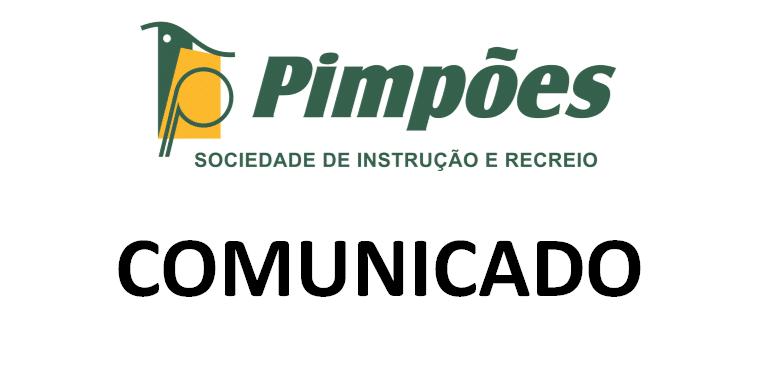 Comunicado da direção dos Pimpões