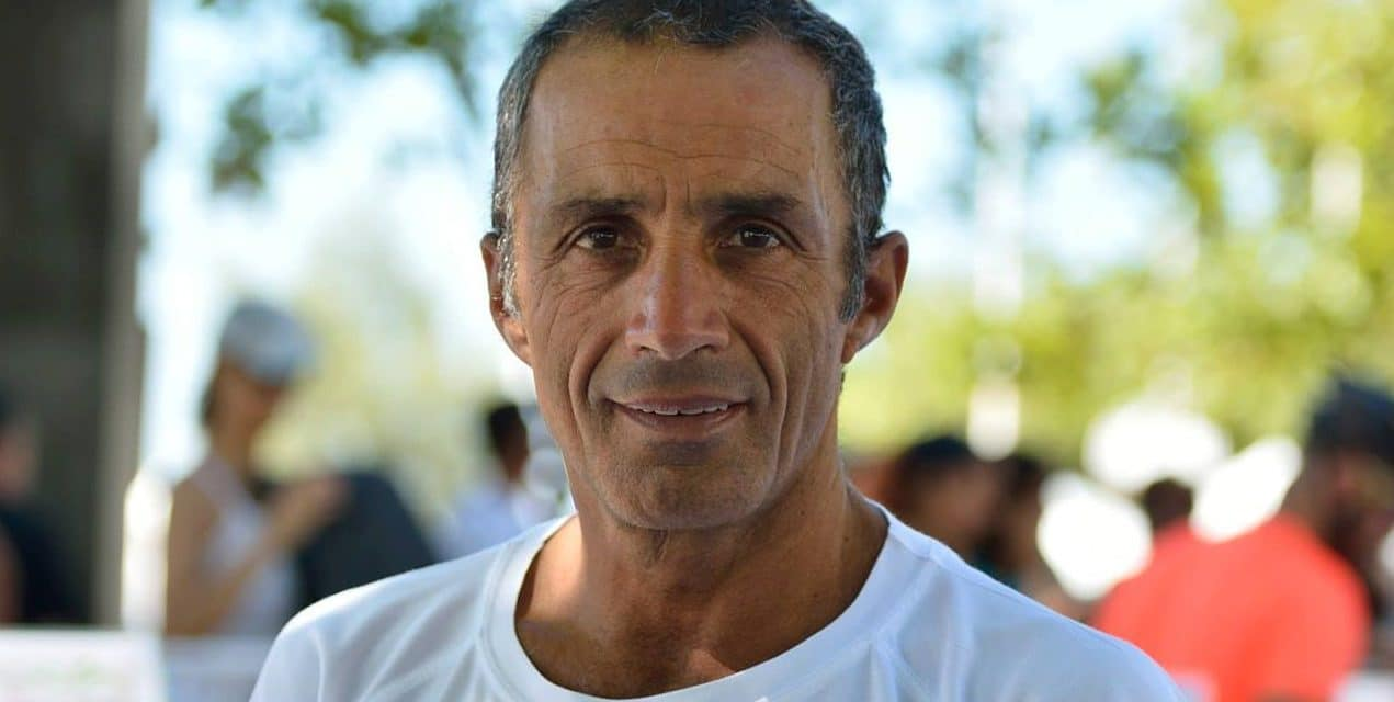 António Moura em primeiro lugar na 2ª etapa da Taça de Portugal de Triatlo