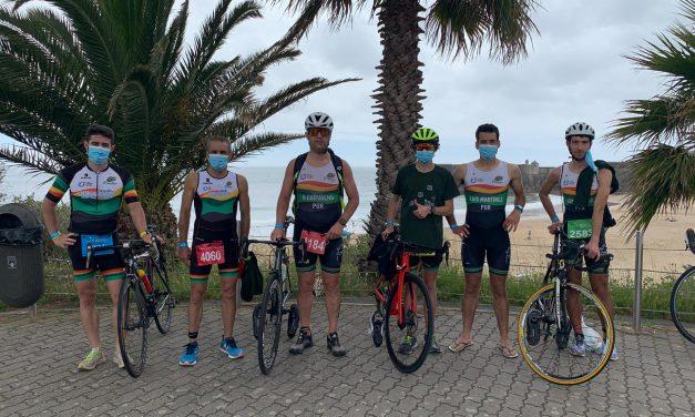 Pimpões Triatlo participaram no 4º Triatlo de Oeiras
