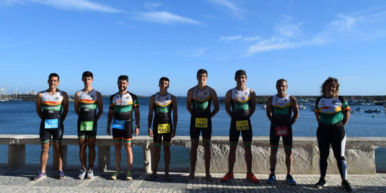 Pimpões participou no Campeonato Nacional de Clubes de Triatlo