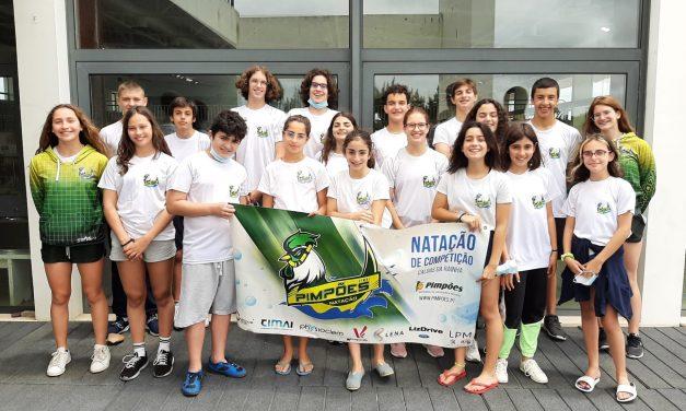 Clube de Natação dos Pimpões destacou-se no Torneio de Velocidade