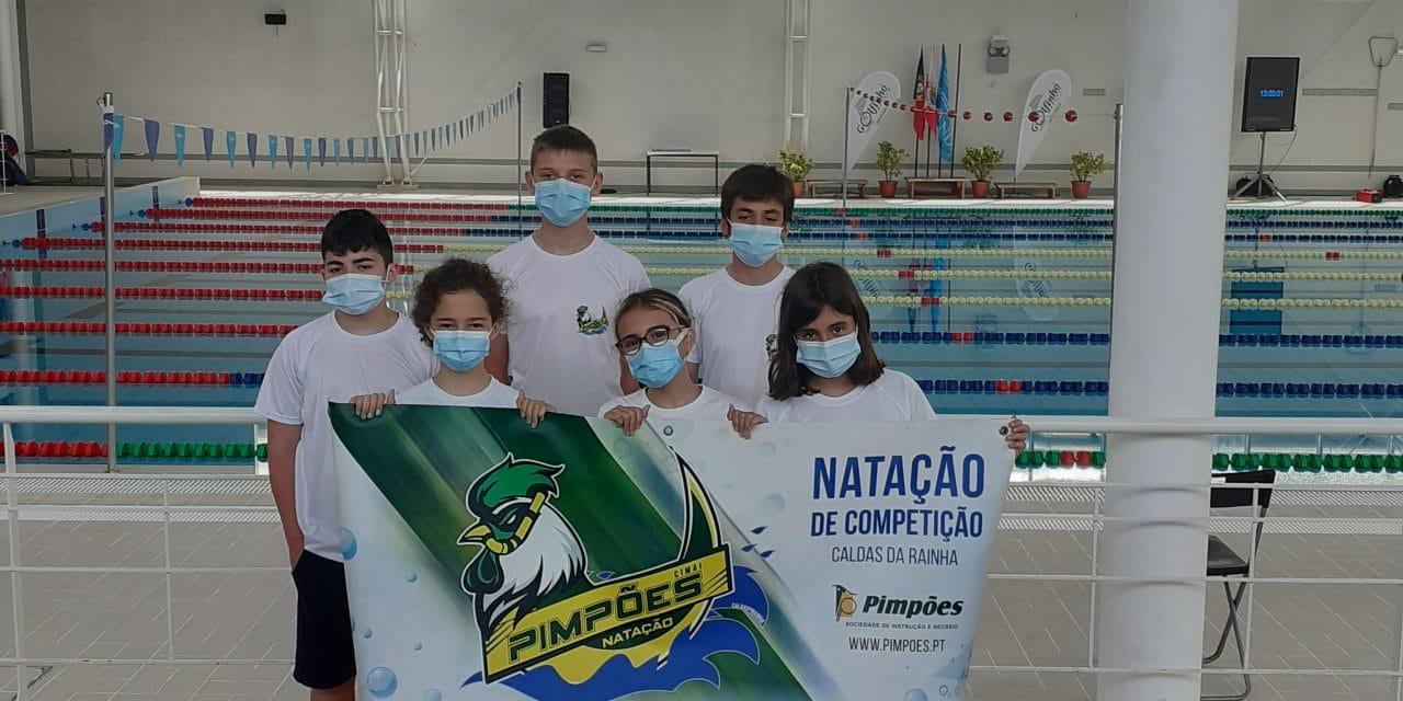 Pimpões Natação participou no Torneio Jovem Nadador, em Leiria