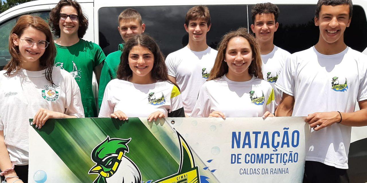 Natação de competição participou no Torneio Inter-Regional Especialista